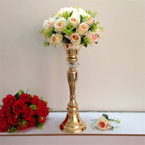 Wedding Flower Vase by 2016 New Style 48cm 18 9 Quot Gold Wedding Flower Vase