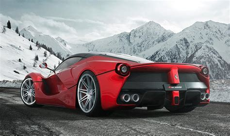 laferrari wheels rendering laferrari on hre wheels