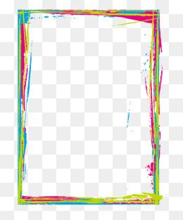 border color brush frame png images vectors and psd files free