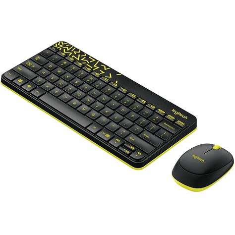 Keyboard Wireless Surabaya logitech keyboard and mouse wireless combo mk240 nano