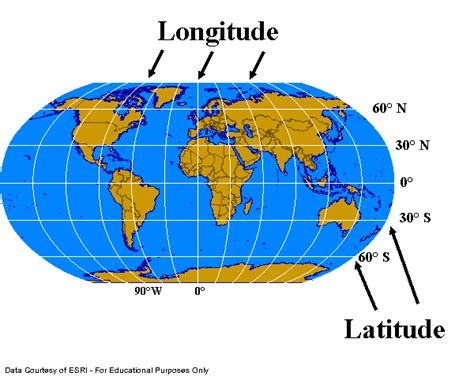 globe maps and lines of latitude project 1 plotting coordinates and projections