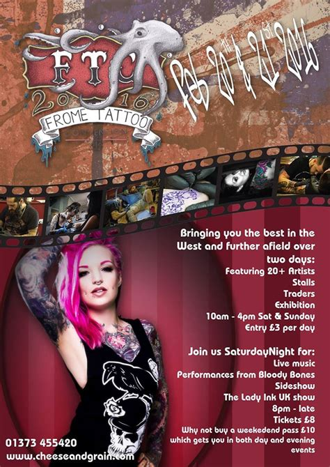 tattoo expo uk 2016 frome tattoo convention returns discover frome