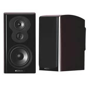 polk audio bookshelf speaker lsim703 black future