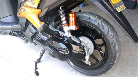 Shock Motor Mio Sporty yamaha mio mxi modified
