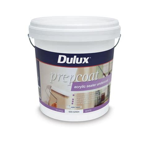 Sealer Dulux Dulux Prepcoat Sealer Undercoat 10l Acrylic Bunnings