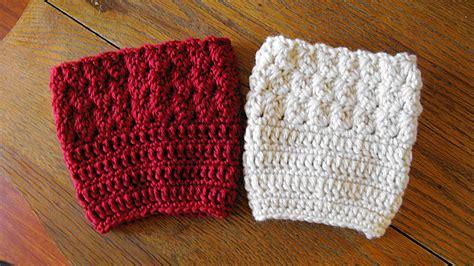 boot cuff patterns elk studio handcrafted crochet designs