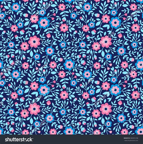 cute little pattern cute pattern small flower small colorful stock vector