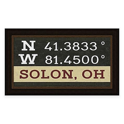 bed bath and beyond solon buy solon ohio coordinates framed wall art from bed bath beyond