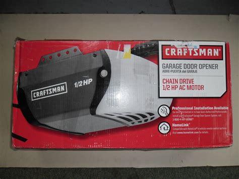 Craftsman Garage Door Opener Blinking Craftsman 1 2 Hp Garage Door Opener 5 Blinks Wageuzi