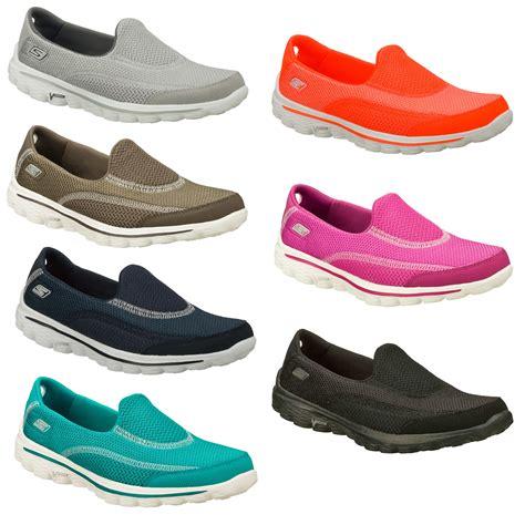 skechers go walk 2 walking shoes size uk 3 9