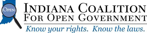 Indiana Gov Records Welcome To Icog Indiana Coalition For Open Government