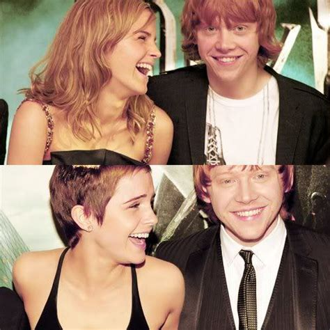 emma watson and rupert grint engaged romione images tumblr stuff