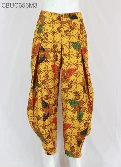 Baju Celana Balon celana balon batik aladin arimbi klasik celana murah batikunik