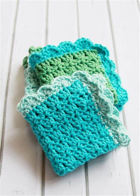 crochet dishcloth 56 easy crochet dishcloth diy to make