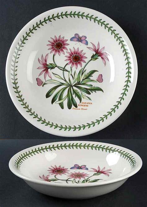 Portmeirion Botanic Garden Pasta Bowls Portmeirion Botanic Garden Treasure Flower Pasta Bowl 5654670 Ebay