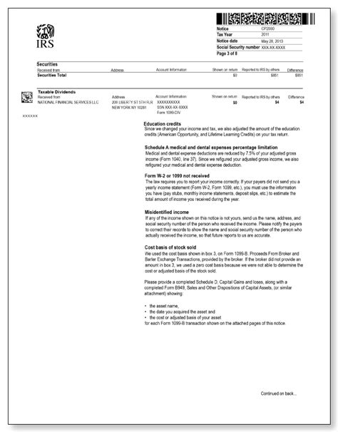 Response Letter To Garnishment Photo Irs Letters And Notices Responding To Irs Letters And Images