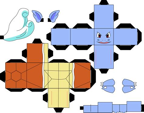 Squirtle Origami - pokemon 008 wartortle by straffehond d3cqig1 jpg 3 018