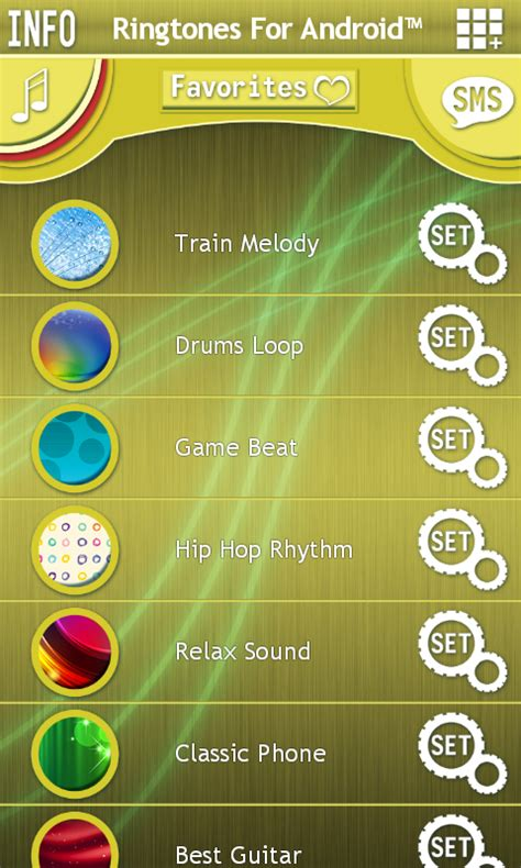 free ringtones for android app ringtones for android free android app android freeware