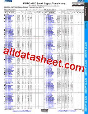 transistor ksp 42 ksp42ta datasheet pdf fairchild semiconductor