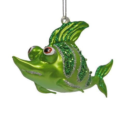 tropical ocean reef shark fish christmas ornament green ebay
