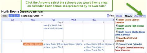 District 200 Calendar Calendars Boone Community Unit School District 200