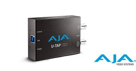 Aja U Tap Hdmi aja ships u tap usb 3 0 ingest devices live production tv