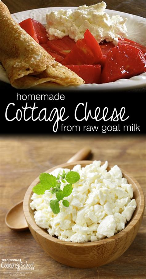 cottage cheese from goat milk traditional