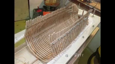 boat builder in spanish historic ship model building le fleuron 1729 part i youtube