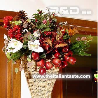 decorazione porta natale decorazioni natalizie per porta o parete