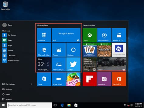 start screen layout xml not working win10 start menu cleanup using defaultlayouts xml david