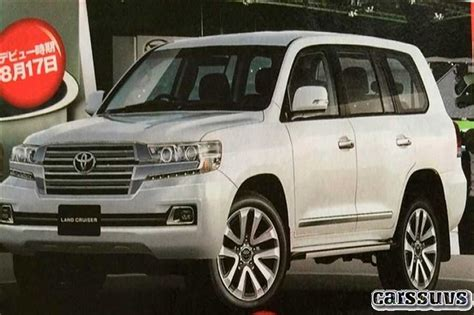 2019 Toyota Land Cruiser 300 Series by 2018 2019 Toyota Land Cruiser 300 New Price