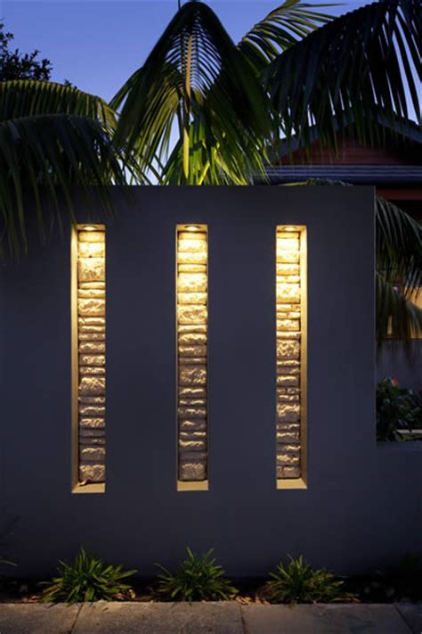 feature wall garden feature walls pillars the garden light company photo
