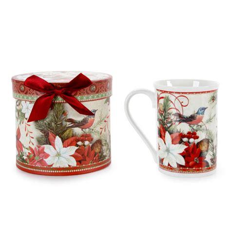 christmas holiday coffee mug gift set 12 ounces