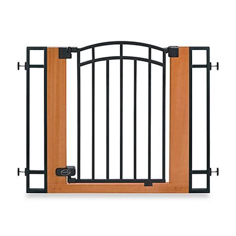 bed gate summer infant 174 wood metal walk thru gate bed bath beyond