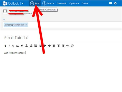 write   email  hotmail  steps  pictures