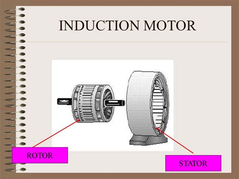 x induction motor x ppt