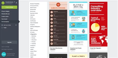 Canva Alternatives A Visual Guide Comparing Visme And Canva Visual Learning Center By Visme Canva Infographic Templates