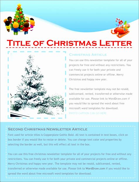 9 Free Christmas Letter Templates Download Word Sletemplatess Sletemplatess Free Microsoft Letter Template