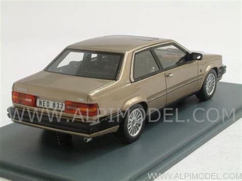 volvo international site neo volvo 780 bertone 1988 beige metallic 1 43 scale model