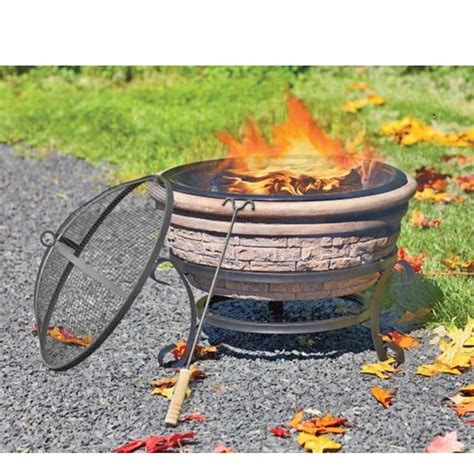 Nantucket Distributing Recalls Clay Bowl Outdoor Clay Firepit