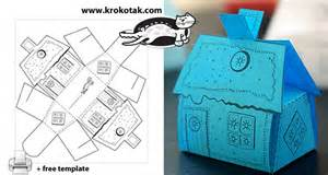 House box for small sweets and gifts krokotak