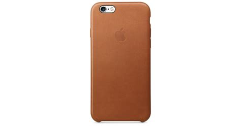Apple Iphone 6s Leather Original Brown iphone 6s leather saddle brown apple