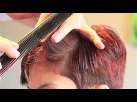 easy step by step instructions for pixie cut tutorial haircut step by step most trendy haircut