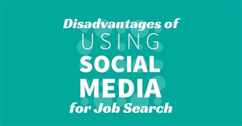 How To Search For On Social Media Top 20 Disadvantages Of Using Social Media For Search