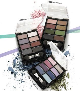 and fashion obsessions oriflame colour eye shadow palette in sand green