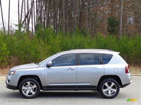 silver jeep compass 2016 billet silver metallic jeep compass high altitude