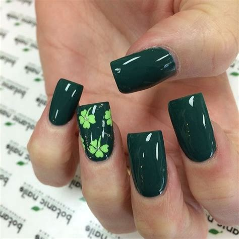 easy nail art st 16 easy yet incredibly cool st patricks day nails designs