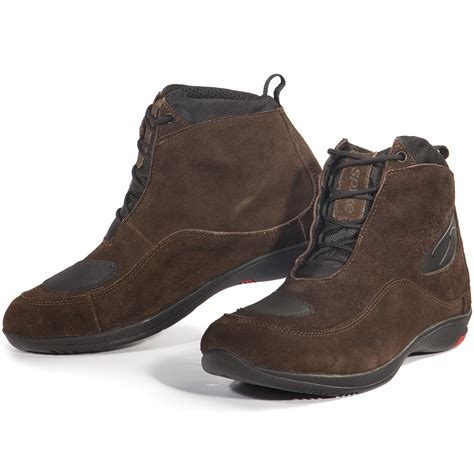 short moto boots spyke sports tech motorcycle boots short ankle paddock