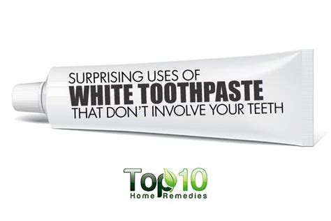 surprising   white toothpaste  dont involve