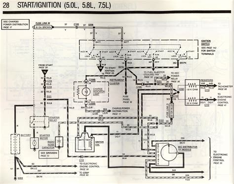89 5 0l Engine Wiring Diagram Page 3 Ford Bronco Forum